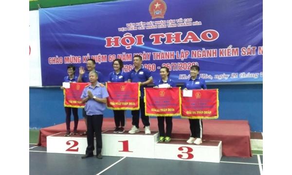 Viện kiểm sát nhân dân tỉnh Khánh Hòa tổ chức Hội thao...