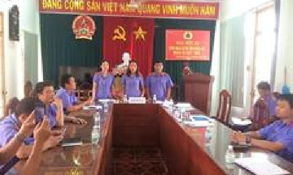 Đại hội Công đoàn cơ sở Viện kiểm sát nhân dân huyện Diên Khánh nhiệm kỳ IX (2017-2022)