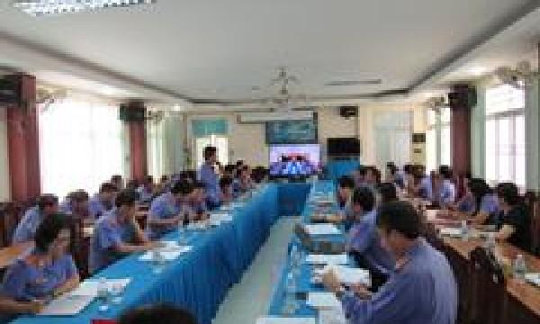 Viện kiểm sát nhân dân tỉnh Khánh Hòa tổ chức Hội nghị giao ban trực tuyến đánh giá công tác kiểm sát 8 tháng đầu năm 2017