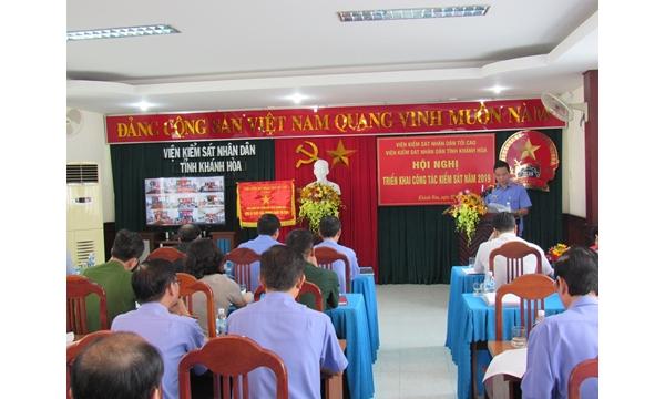 Viện kiểm sát nhân dân tỉnh Khánh Hòa tổ chức Hội...