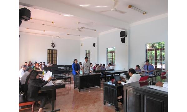 Viện kiểm sát nhân dân huyện Khánh Vĩnh phối hợp...