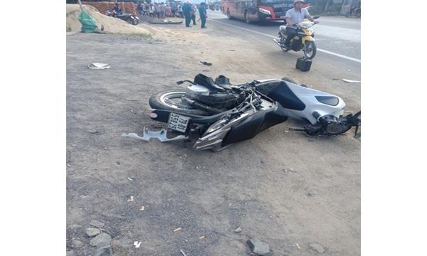 Vụ tai nạn giao thông rất nghiêm trọng trên địa...