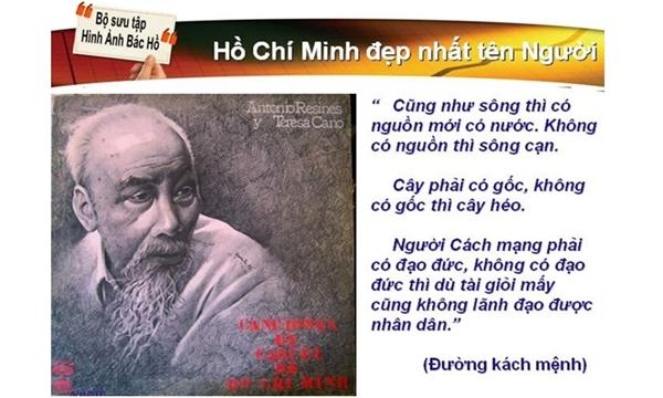 """TƯ TƯỞNG HỒ CHÍ MINH VỀ ĐẠO ĐỨC CÁCH MẠNG TRONG """"..."""