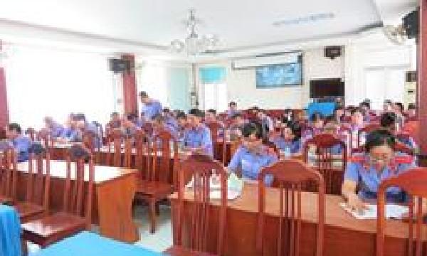 Đảng bộ Viện kiểm sát nhân dân tỉnh Khánh Hòa tổ chức quán triệt Nghị quyết Hội nghị lần thứ V Ban chấp hành Trung ương (Khóa XII) đến toàn thể Đảng viên trong Đảng bộ