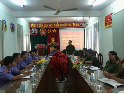 VKSND huyện Diên Khánh chủ trì sơ kết Quy chế phối...