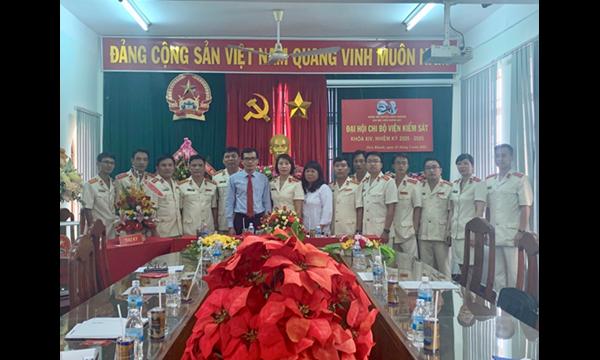Viện Kiểm sát nhân dân huyện Diên Khánh tổ chức Đại hội...