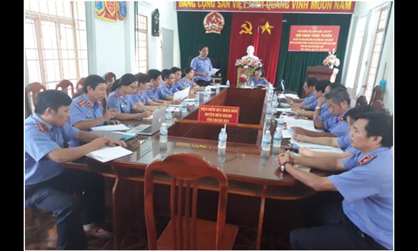 Viện kiểm sát nhân dân tỉnh Khánh Hoà tiến hành kiểm...