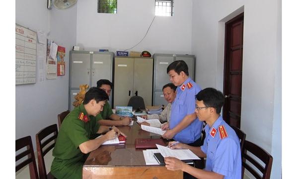 Viện KSND huyện Khánh Vĩnh phối hợp với Mặt trận...