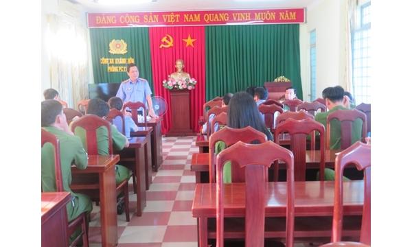 VKSND tỉnh Khánh Hòa kiểm sát Trực tiếp đột xuất Cơ...