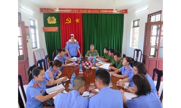 Viện KSND tỉnh Khánh Hòa trực tiếp kiểm sát việc tuân...