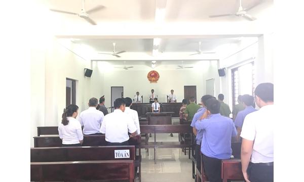 Viện kiểm sát nhân dân huyện Cam Lâm phối hợp với Toà...