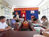 Viện kiểm sát nhân dân huyện Khánh Vĩnh  dẫn đầu phong trào thi đua Khối nội chính trong 6 tháng đầu năm 2017