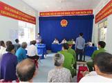 VKSND huyện Vạn Ninh phối hợp xét xử lưu động vụ án Cố ý gây thương tích tại Đại Lãnh - Vạn Ninh