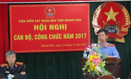 Ngành Kiểm sát Khánh Hòa tổ chức Hội nghị cán bộ, công...