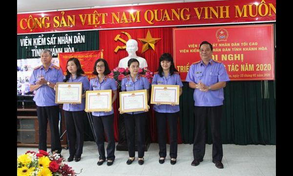 Viện kiểm sát nhân dân tỉnh Khánh Hòa tổ chức trực...