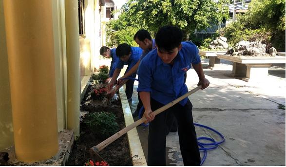 Đoàn viên thanh niên VKSND huyện Vạn Ninh tổ chức các hoạt......