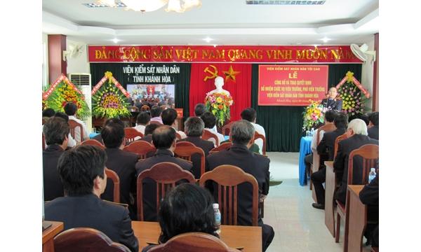 Lễ công bố và trao quyết định bổ nhiệm chức vụ VT, PVT