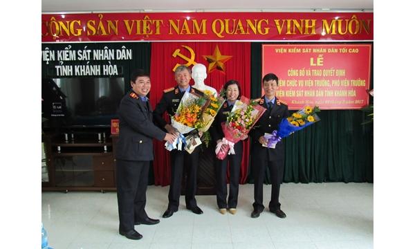Hình ảnh Kiểm sát Khánh Hòa năm 2017