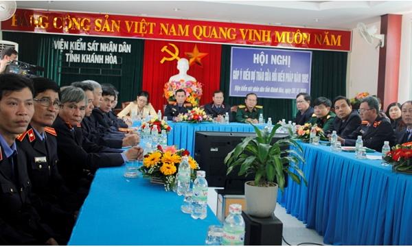 Hình ảnh ngành kiểm sát Khánh Hòa